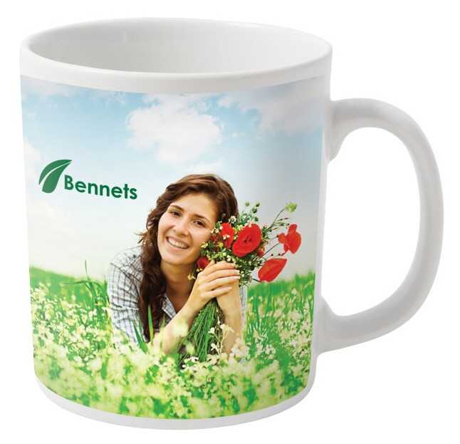 full colour printed mugs in standard can shaped mugs are terrific prom