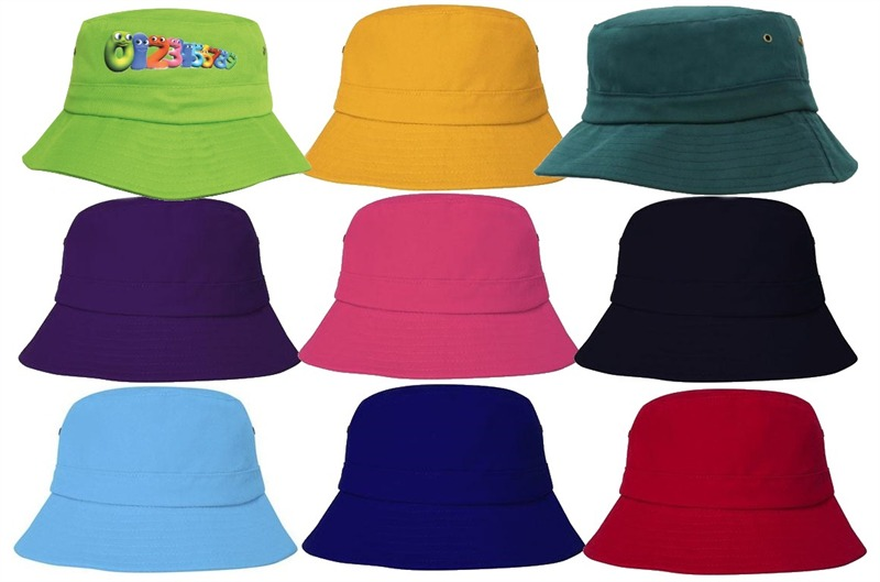 fc2afbe49de Youth Sized Hat in eight funky promo colours