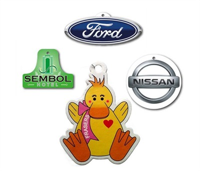 100mm Branded Car Fresheners