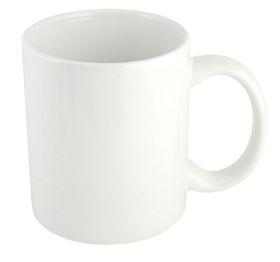 300ml White Coffee Mug