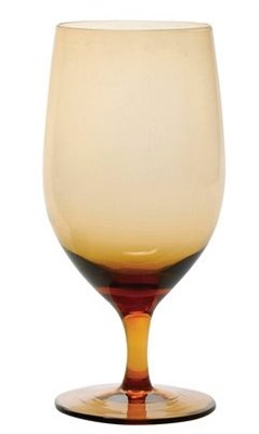 443ml Party Amber Wine Goblet