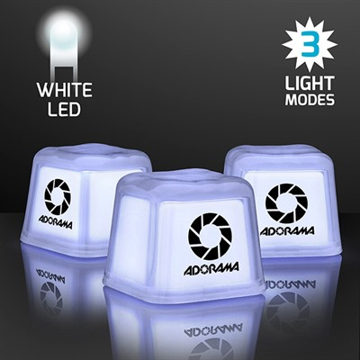 Party Ice Cube White LED