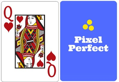 Poker Cards Solid Back Jumbo Face