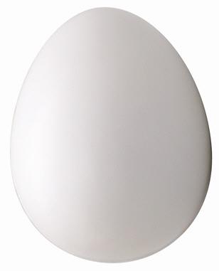 White Egg Anti Stress Shape Are Large Promotional Stress