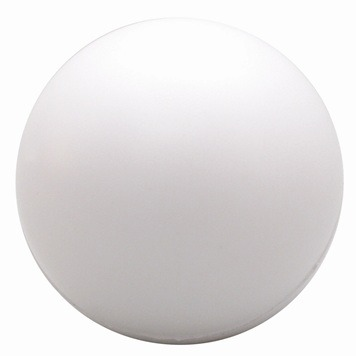 simple white stress balls