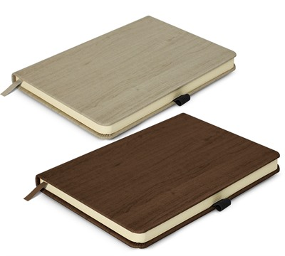 Wood Grain Finished Notebook