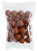 100g Malt Chocolate Ball Cello Bag