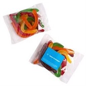 100g Snakes in Cello Bag