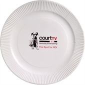 175mm White Paper Plate