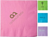 2 Ply Island Coloured Beverage Napkin
