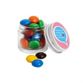 20g Mini Glass Jar M&Ms