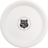 220mm Compostable Paper Plate