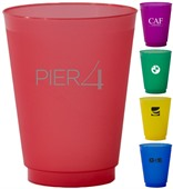 473ml Coloured Frosted Cup
