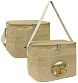 5 Litre Jute Cooler Bag