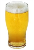 570ml Angus Beer Glass
