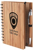 Bamboo Notebook with Pen