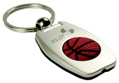 Basketball Light Keyring