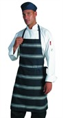 Blue and White Stripe Apron