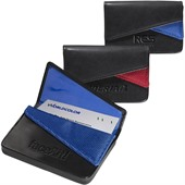 Bonded Leather Business Card Case