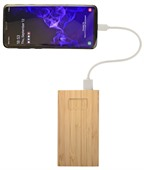 Burner Bamboo Power Bank