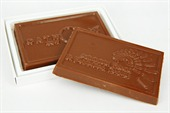 Business Card Chocolate Logo
