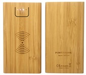 Calibre Bamboo Wireless Power Bank
