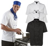 Chefs Short Sleeve Jacket