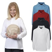 Childs Long Sleeve Polo Shirt