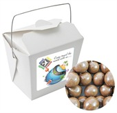 Chocolate Malt Balls White Noodle Box