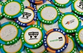Chocolate Poker Chips