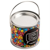 Coloured M&M Jar