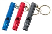 Coloured Whistle Key Ring