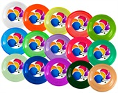 Colourful Frisbie
