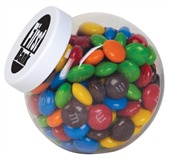 Container of M&Ms