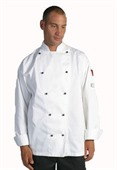 Cotton Long Sleeve Chef Jacket