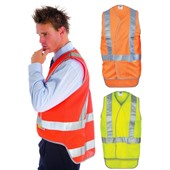Cross Back Safety Vest