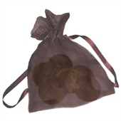 Custom Coin Organza Bag