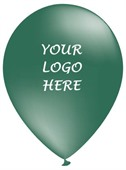 Custom Emerald Green Party Balloons