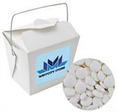 Flat Mints White Noodle Box