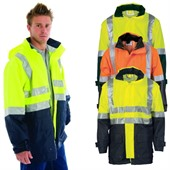 Heavy Duty Hi Vis Breathable Jacket