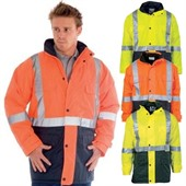 Heavy Duty Hi Vis Jacket