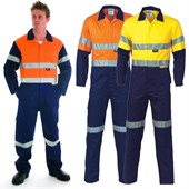 Heavy Duty Reflective Work Coverall