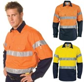 Hi-vis Cool Breeze Work Shirt