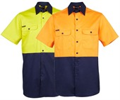 Hi Vis Cotton Mens Shirt