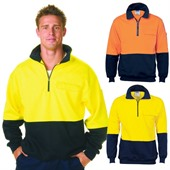 Hi Vis Cotton Windbreaker