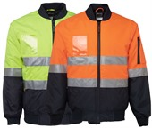 Hi-Vis Day and Night Flying Jacket