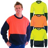 Hi Vis Fleece Crew Neck Shirt
