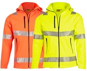Hi Vis Heavy Duty Safety Jacket