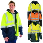Hi Vis Jacket with Vest