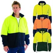 Hi Vis Polar Fleece Zip Sweater